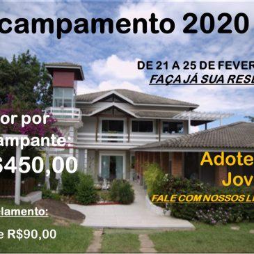 Acampamento JNI 2020